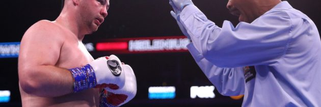 Kownacki: 'Lesson learned' in upset loss to Helenius