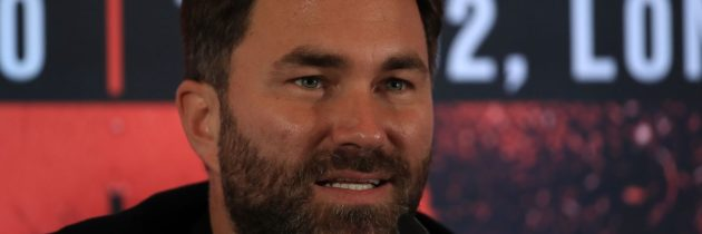 Hearn: Fury won't be happy with Wilder 3 money