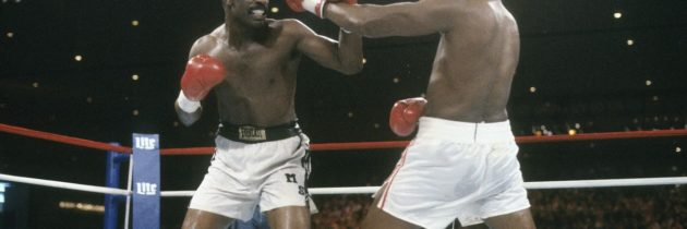 On the cusp of Marciano's record, Holmes is dethroned by Spinks