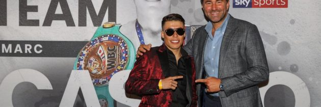 Prospect Castro expecting a great pro boxing career