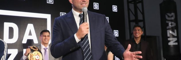 Hearn: Don't believe everything you hear about DAZN money problems