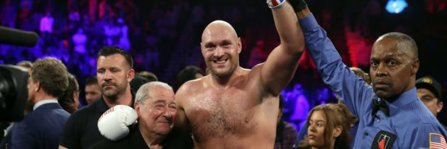 Arum: I can't predict if or when Fury-Wilder 3 will happen