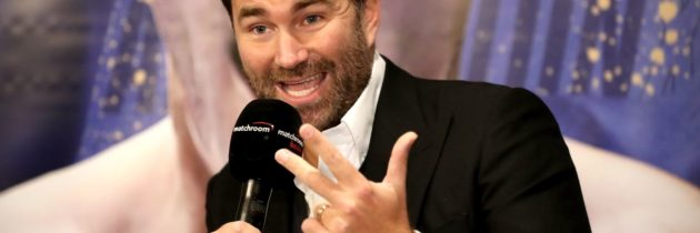 Hearn planning to host fights in his backyard