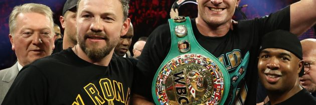 Andy Lee predicts Fury would stop Joshua in eight rounds