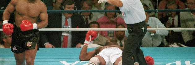Gone in 180 seconds: Eight memorable first-round knockouts