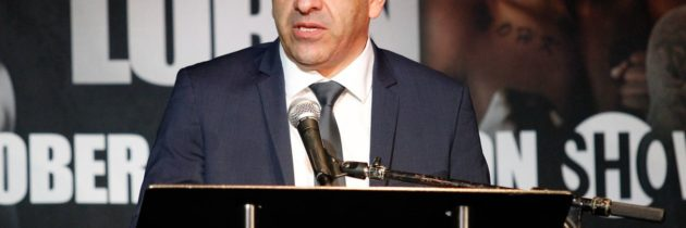 Espinoza expects a race for dates and venues once lockdown ends
