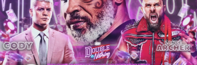 Mike Tyson to take part in AEW Double or Nothing PPV
