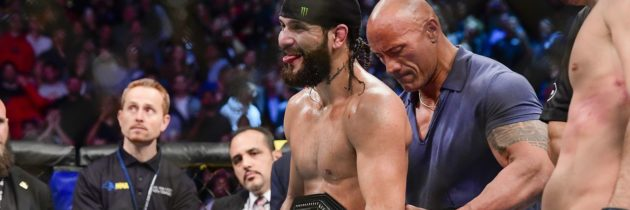 Free Fight! The Night Masvidal Became The 'BMF' Champ