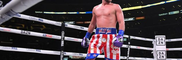 Saunders explains why he opted out of Canelo sweepstakes