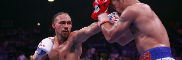 Thurman says hand hindered performance against Pacquiao, tells Crawford to send contract