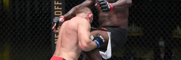 Highlights! 'Black Beast' Enters UFC Record Books, Stops Oleinik With TKO