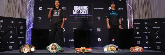 Braekhus-McCaskill: Final press conference quotes
