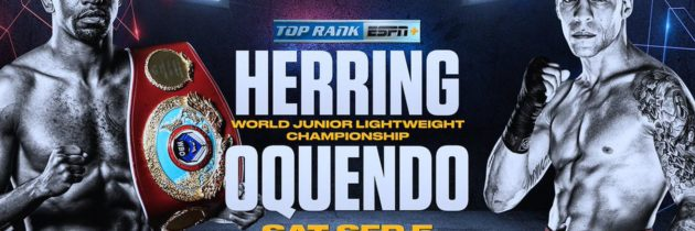 Herring-Oquendo, Nelson-Ware official for Sept. 5
