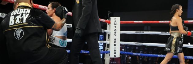 Making a Mismatch: How Miranda Adkins came to fight Seniesa Estrada, Part Two