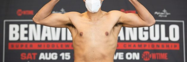 Benavidez disappointed about missing weight for Saturday bout
