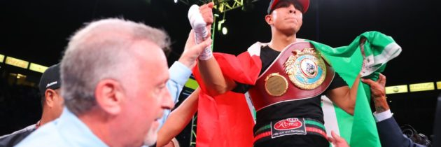 Munguia-Johnson in the works for October 24th