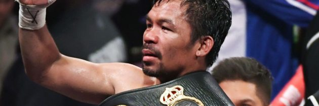 Pacquiao signs new deal with Paradigm ahead of likely McGregor fight