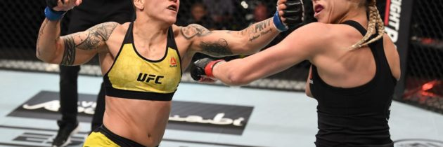 Andrade: Fight With Champ Shevchenko 'Should Have Happened Already'