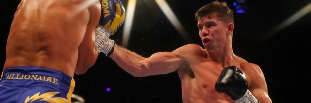 Campbell: When I start hurting Garcia, he won't want to be there