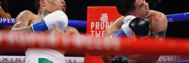 Davis viciously knocks out Santa Cruz in sixth round