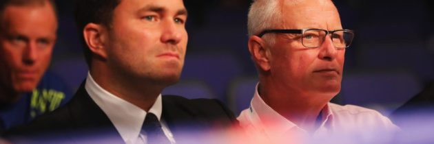 Eddie Hearn promoted to chairman of Matchroom Sport Group