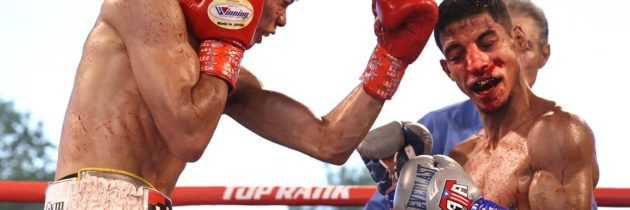 Results and highlights: Nakatani breaks Acosta's nose, retains WBO title