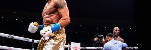 Results and highlights: Belfort stops Holyfield in one, calls out Jake Paul and Canelo in publicity stunt