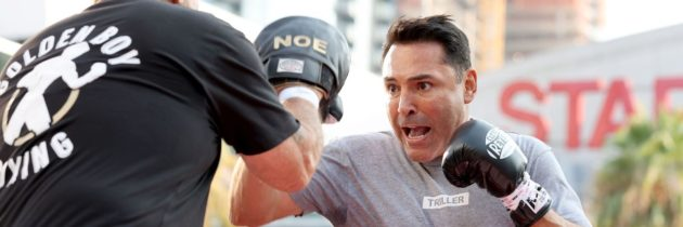 De La Hoya pulled from Belfort fight with COVID, could be replaced by Holyfield
