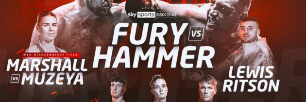 BOXXER unveils upcoming cards on Sky Sports